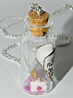 Snail Mail, Bottle Necklace