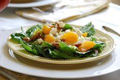 Short Stop: Mandarin Orange Salad with Glazed Almonds