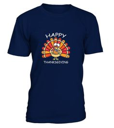 Happy Thanksgiving Turkey with Pizza Funny T Shirt