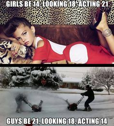 Girls Vs. Boys How They're Different!