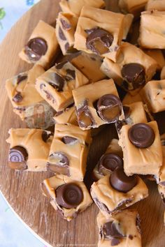 Caramel Rolo Fudge! More