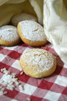 Biscotti con farina di riso, senza glutine