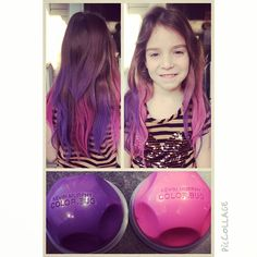 """""""Show off your colourful #ombré with @love_kevin_murphy Color.Bugs now available @jigsawforhair """" Photo taken by @jigsawforhair on Instagram, pinned via the InstaPin iOS App! http://www.instapinapp.com (09/05/2014)"""