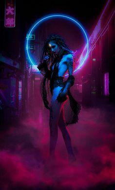 Neon Witch | Artstation
