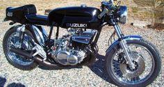 suzuki gt550 two-stroke cafe racer - bikerMetric