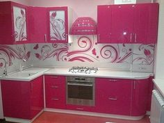 Pink Kitchen Cabinets kitchen cabinets design pictures for your inspiration pink 2