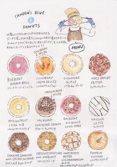 camden's blue star donut