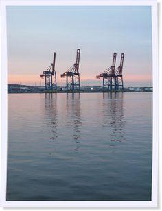 Gothenburg Harbour - #Gothenburg #Sweden #sunset