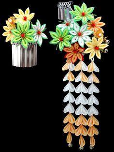 kanzashi maple-leaves