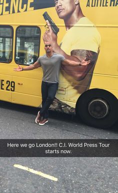 "The Rock, Dwayne Johnson, promoting ""Central Intelligence"" in London"