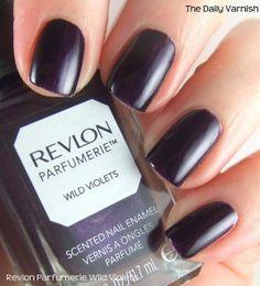 Revlon Parfumerie Wild Violets... My nail color right now!