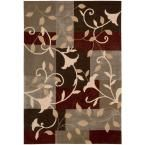 Contour Mocca 3 ft. 6 in. x 5 ft. 6 in. Area Rug
