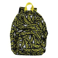 The fun backpack by Stella McCartney Kids is printed with an all-over banana print. Made from a cotton stretch, it has a zipped front pouch, a dual zip main compartment, and adjustable padded straps to ensure a comfortable fit.