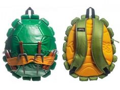 Teenage Mutant Ninja Turtle Shell Backpacks- Why didn't these exist sooner?!?