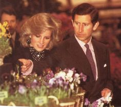 royal-family-album: Prince Charles and Princess Diana. (I love her hair in this picture.)