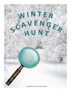 $3 Pre-K- Grade 3 Going on a scavenger hunt is a great way to break away from desk activities. Students can spend time with classmates while observing the sights of the Winter Season and learning about the great outdoors! This scavenger hunt could provide a wealth of opportunities for active fun and it will satisfy the students' natural urge to explore and learn about the world in which they live. It has items for countries with warm or cold weather. #winter #scavengerhunt #worksheets #outdoors Winter Activities, Teaching Activities, Art Activities, Teaching Ideas, Teaching Science, Classroom Games, Primary Classroom, Outdoor Classroom, Outdoor Education