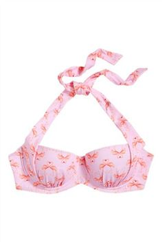 Buy Flamingo Print Swimwear: 2 in 1 Bikini Top from the Next UK online shop