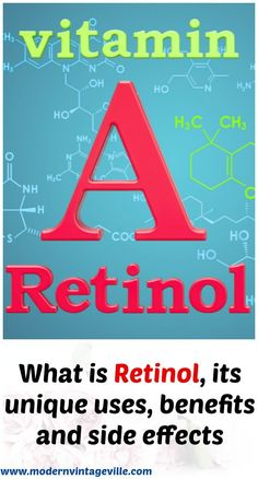 Retinol is a perfect anti-aging ingredient that became very popular in nowadays skincare. Retinol also helps with sun damage, acne, psoriasis and warts. It possible to buy retinol containing product at any drugstore at affordable price. Best Skin Care Routine, Skin Care Regimen, Skin Care Tips, Anti Aging Tips, Anti Aging Skin Care, Organic Skin Care, Natural Skin Care, What Is Retinol, Skin Food