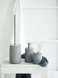 juna concrete bathroom accessories - Concrete Bathroom Decoration