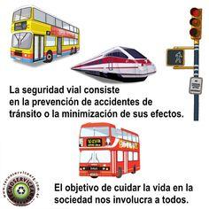 #SeguridadVial || La seguridad vial consiste en la prevención de accidentes de tránsito o la minimización de sus efectos. El objetivo de cuidar la vida en la sociedad nos involucra a todos.