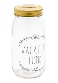 Disney Vacation Fund Jar--so cute!