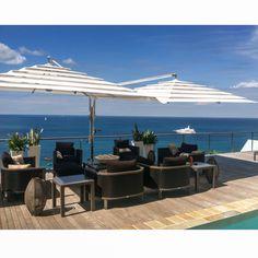 Good morning from Ce' Blue Villas & Beach Resort Sun Shade, Beach Resorts, Villas, Restaurant, Patio, Outdoor Decor, Blue, Travel, Home Decor