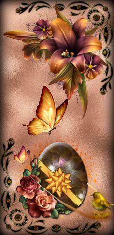 Flower Background Wallpaper, Flower Phone Wallpaper, Butterfly Wallpaper, Butterfly Art, Cellphone Wallpaper, Flower Backgrounds, Flower Wallpaper, Wallpaper Backgrounds, Flower Art