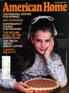 Brooke Shields' first magazine cover & a Colgate ad