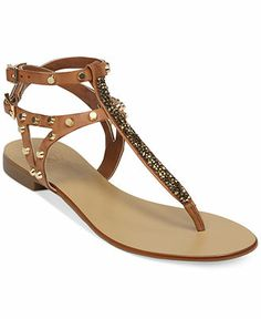 dac659f0a6df41 Vince Camuto Jemile Flat Thong Sandals - Vince Camuto Shoes - Shoes -  Macy s Cute Sandals