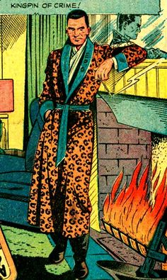 """Vintage Comic, Pop Art  ~ """"Kingpin of Crime! And you want him ladies, don't you…"""""""