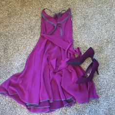 Anthropologie size 2 summer dress Great deal! Beautiful dress, only worn a few times! Anthropologie Dresses