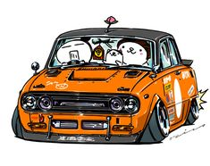 """crazy car art"" jdm japanese old school ""BELLE G"" original characters ""mame mame rock"" / © ozizo Official web shop ""STAY CRAZY (in Society6)"" Official web shop ""ozizo(in Redbubble)"" ""Crazy Car Art"" Line stickers ""Crazy car Art"" Telegram stickers"