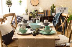 Mix and Match palettes for the perfect dinner party   http://shop.cottonon.com/shop/the-hall/  #typoshop #thehallshop #style #decor #home #interiors #dreamy #loft #studio #design #dining #party #alfresco #color #colour
