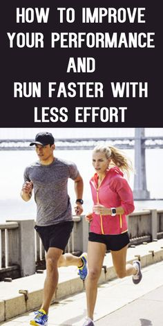 RUN FASTER WITH LESS EFFORT WITH TOP TIPS FROM PROS! #running #runningtips #runningadvice