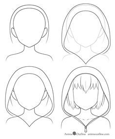 How to Draw Anime Hats & Head Ware - AnimeOutline