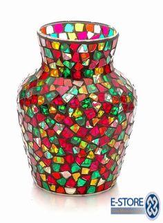 BING SEARCH FREE MOSAIC PATTERNS   Free Mosaic Flower Pot Patterns | Mosaic Glass Vase (G TP SP F)