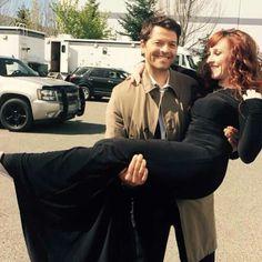 Cas, I understand that you miss Meg, but you can't hook up with Rowena. Do you really want to be Crowleys daddy?
