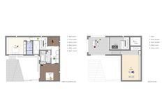 Easy House,Floor Plan 2, 3