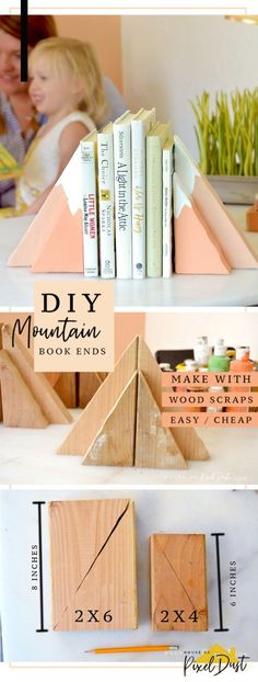 Scrap Wood Projects, Diy Projects To Try, Crafts To Do, Home Crafts, Woodworking Projects, Craft Projects, Crafts For Kids, Scrap Wood Art, Craft Ideas