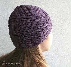 Free knitting pattern for Circuitry Hat Designed by Agata Smektala, this unisex hat is knit in the round.