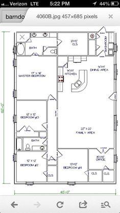 Popular Ideas The Barndominium Floor Plans U0026 Cost To Build It #barndominium  #barndominiumplans #
