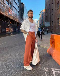 Look Fashion, Fashion Outfits, Street Fashion, Male Summer Fashion, 90s Fashion, Style Masculin, Vetement Fashion, Stylish Mens Outfits, Summer Outfits Men