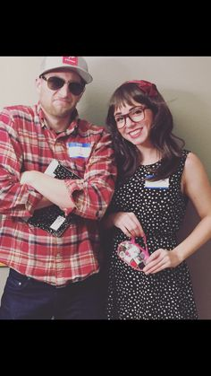Couples Costume Jessica Day and Nick Miller- New Girl