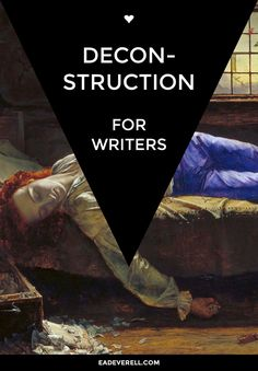 A little light literary theory for writing help.