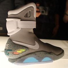 Back To The Future Shoes - The Nike Air Mag, only 1,500 pairs made, only $3,500...but no self-tying? WTF?!