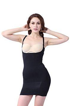 7b55d495cc32e Franato Women s Shapewear Wear Your Own Bra Control Slip Body Shaper Dress   gt  gt