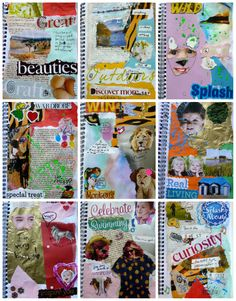 Awesome art journaling inspiration
