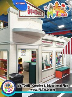 My Town - Grocery Store   by Iplayco - INTERNATIONAL PLAY Playground Equipment
