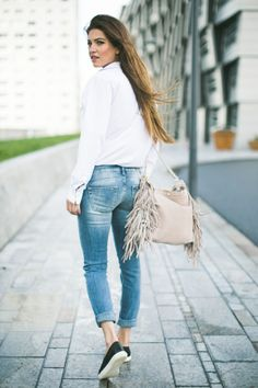 Jeans with Something Special | Negin Mirsalehi