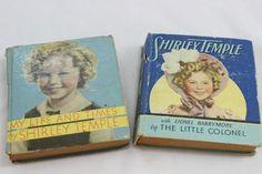 Vintage Shirley Temple Big Little Books 1930s